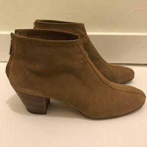 Aquatalia by Marvin K Tan/Cognac Ankle Boots